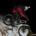 Dave im Schnee