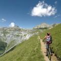 Aufstieg zum Kuhkackeweg