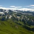 Das da hinten ist der Mont Blanc... (sch*** Wolken)