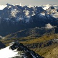 die Berge dampfen