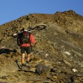 das letzte Stück zum 1. Gipfel