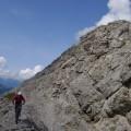 Stöne am Gipfelgrad
