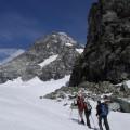 erster Gletscherkontakt