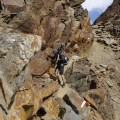 vom 2. Gipfel abwärts