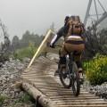 steil bergab auf Northshores
