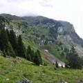 wieder mal Berge in Wolken