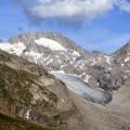 der Gletscher rinnt ins Tal!