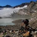 erste Bergabpassage
