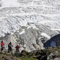 die drei vorm Gletscherbruch