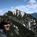 Blick zum 2. Gipfel