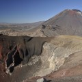 red crater und mt tongariro