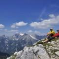 gemütliche Gipfelrast