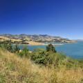 Blick über Banks Peninsula (Südinsel)