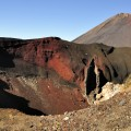 Red Crater und Mount Ngauruhoe (Nordinsel)