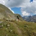 beim ersten von mehreren Bergsee