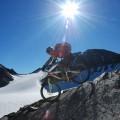 immer auch schöne Gletscherblicke