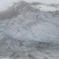Gletscher von oben.