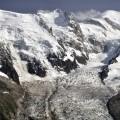 Mont Blanc mit Nebengipfeln