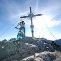 Gipfelabfahrt Nummer 1...