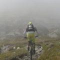 Abtauchen in den Nebel.