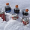 Cola und Bier in der Sonne!